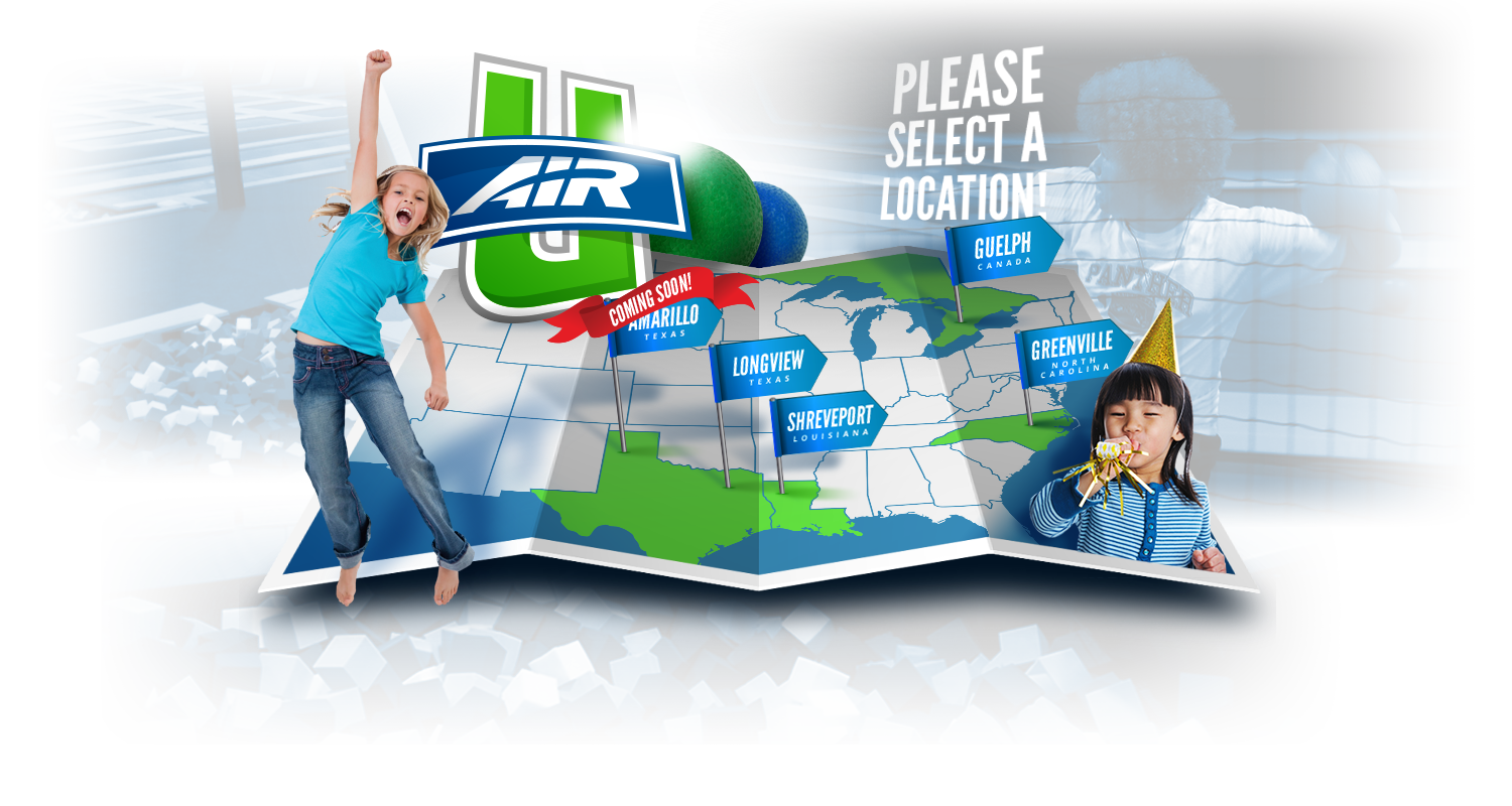 Air U Indoor Trampoline Parks and Party Centers